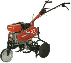 Honda 2.5 and 5.5 hp garden tillers