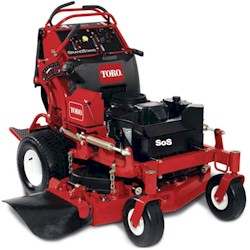 Toro Wide Cut Commercial walk behind mowers